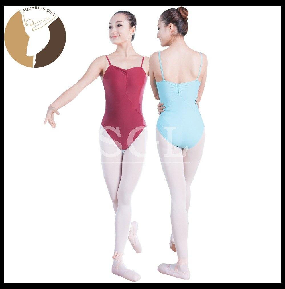 5 unids/lote) ballet leotardo adulr Ballet camisola traje para Niñas ...