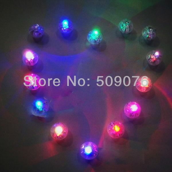 Free shipping 1000pcs lot 1 4CM warm white Led balloon light latex helium balloons light for