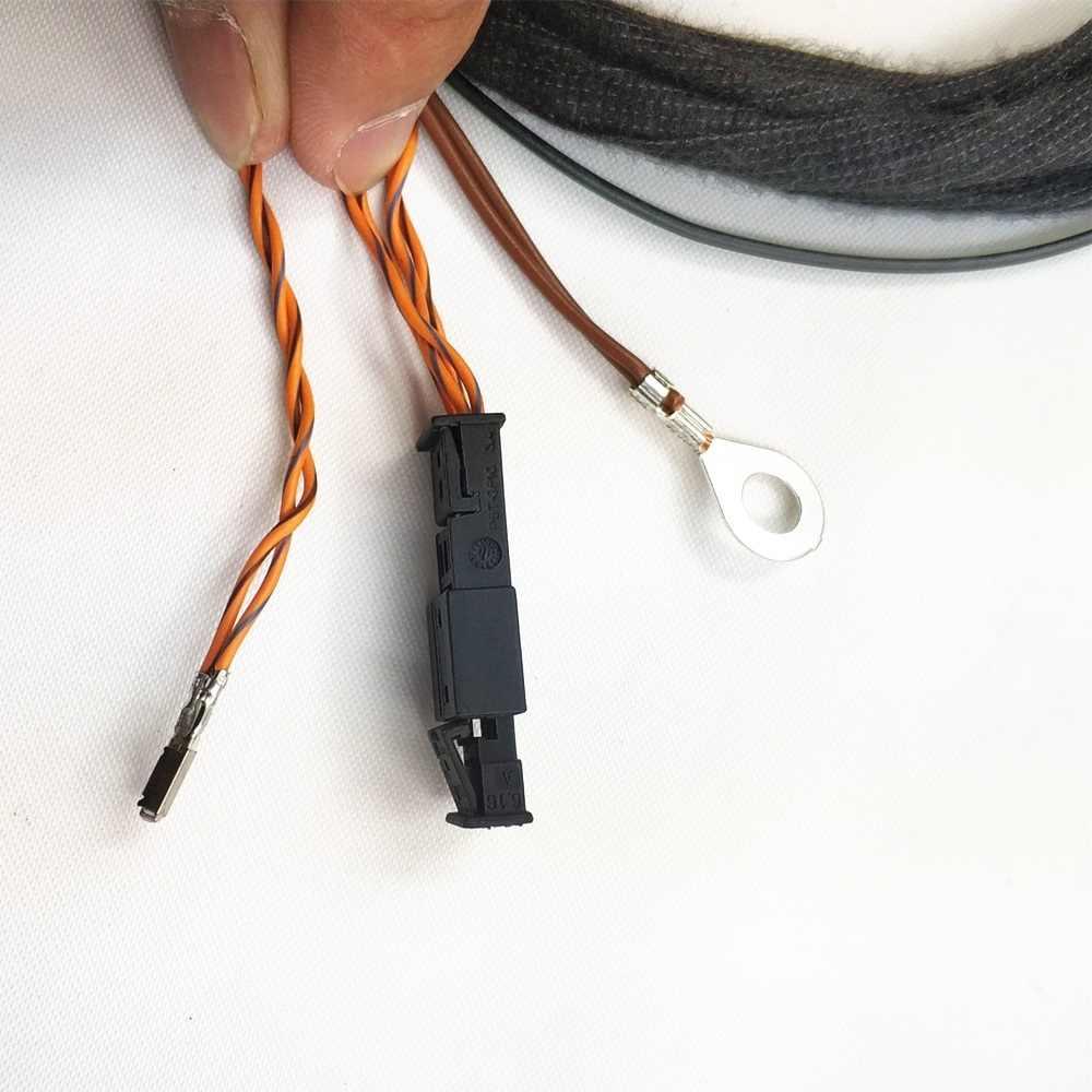 READXT 車のフロントカメラレーン支援レーン維持システム Install ワイヤーケーブルハーネスプラグゴルフ 7 MK7 ティグアンパサート b8 MQB A3