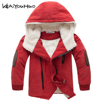 KEAIYOUHUO Yeni Boys Çocuk Kış Giysileri Aşağı Ceket Çocuk Mont Spor Sıcak Kabanlar Boys Kapşonlu Giyim Vestido Infantil