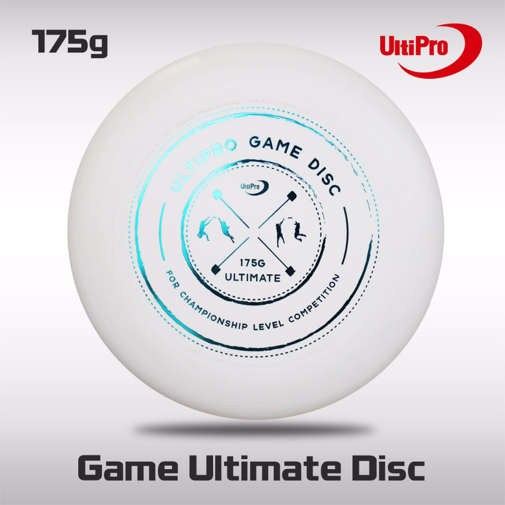 WFDF Approved Free Shipping 175g Professional Ultimate Disc UltiPro Ultimate Frisbee Gamedisc