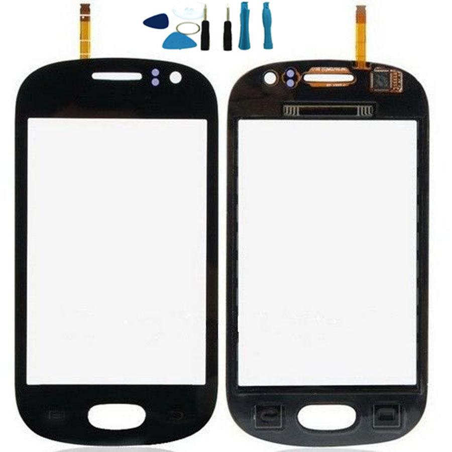 Vannego Livraison gratuite Pour Samsung Galaxy GT 6810 S6810 Écran Tactile Numériseur Capteur En Verre de Remplacement blanc/noir + outils