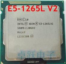INTEL MB SmartCache E3-1265LV2 2.50GHZ Quad-Core 8 E3 1265L V2 HD Graphics 2500 TPD E3-1265L V2 DDR3 1600MHz LGA1155 45W