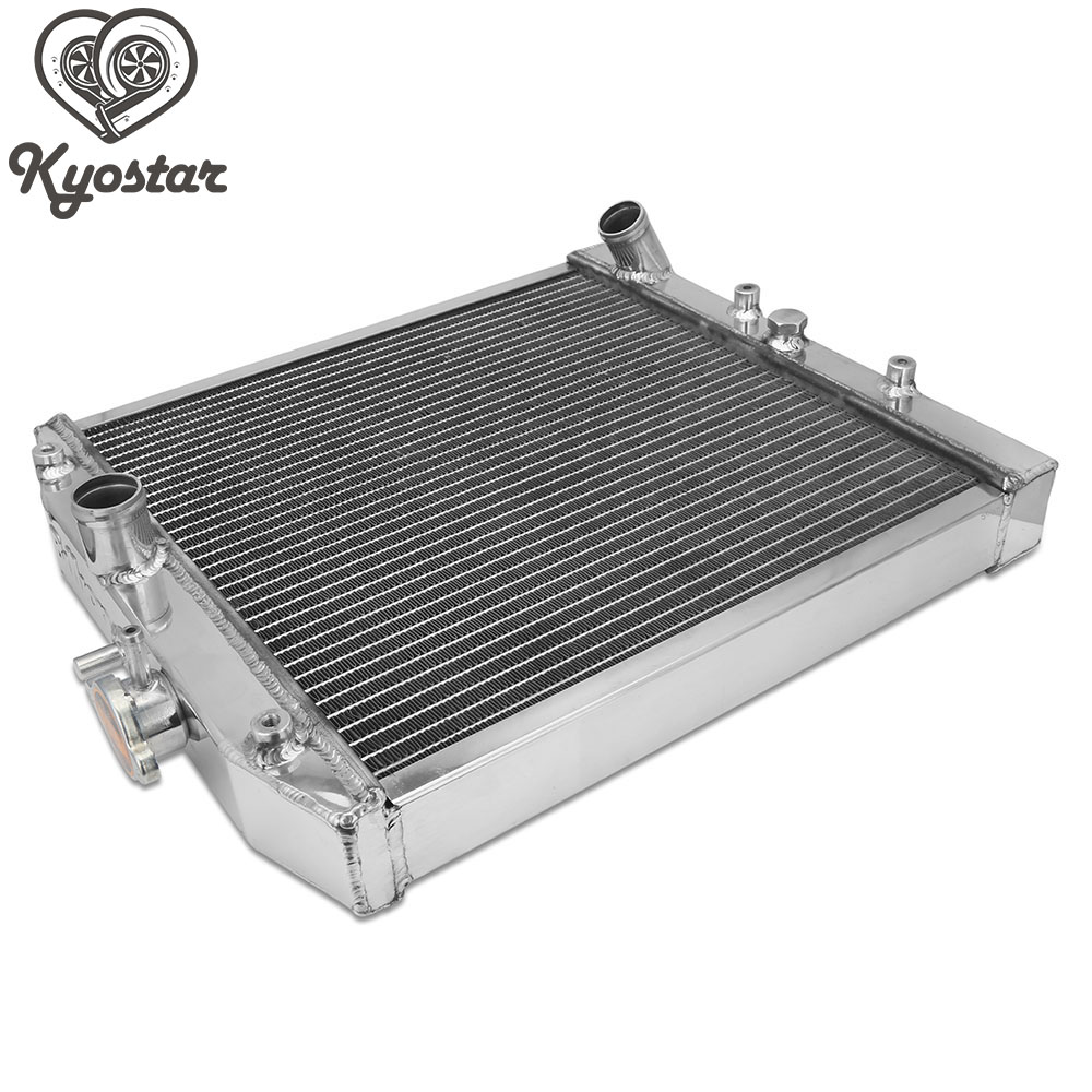 Dual Core 2 Row Silver Aluminum Radiator MT Manual for 1992-2000 Honda Civic 2/3/4 door EG EJ EK D15 D16 B16 B18 B20 цены