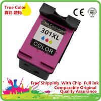 Cartucce di inchiostro Rigenerate Per 301 XL HP301 HP301XL 301XL D1000 Deskjet 1000 1010 1050 1050A 1510 1512 1514 2050A