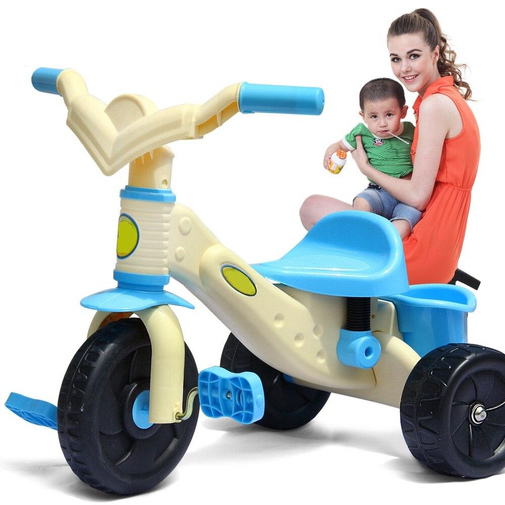 Livraison gratuite bébé tricycle bébé poussette tricycle vélo vélo poussette jouets pour 1-3 ans