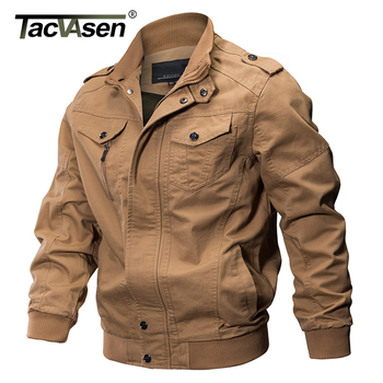 TACVASEN Premium Slim Fit Military Style Jacket