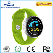C5 gsm heart rate watch with touch display and pedometer smart phone watch free shipping