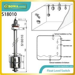 Ze stali nierdzewnej pionowy pływakowy do montażu na wyłączniki sterowanie poziomem może sprawić  że wskazanie poziomie chemicznym w Części do nagrzewnicy wodnej i pompy ciepła od AGD na
