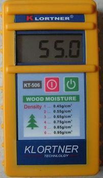 Italy induction type wood moisture meter KT-506 wood moisture content moisture meter handheld moisture meter 6 60