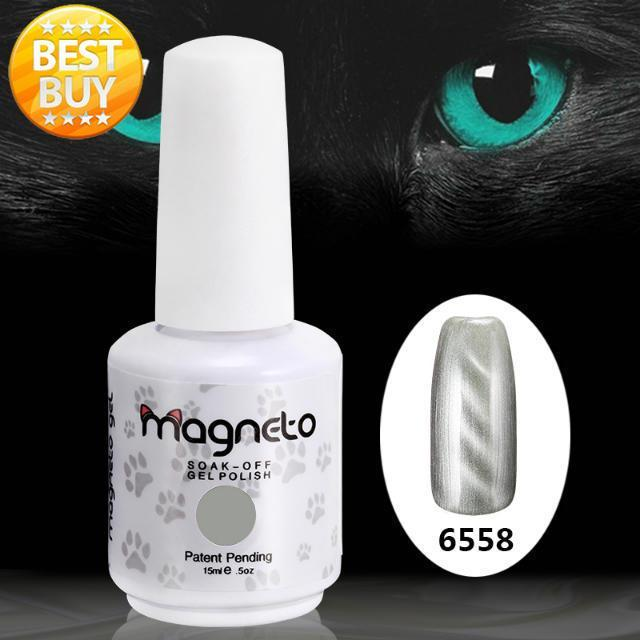 20pcs new  cat's eye gel high quality soak off uv gel nail polish 3D gels (18 colors +1 Base +1 Top) Uv Magneto gel