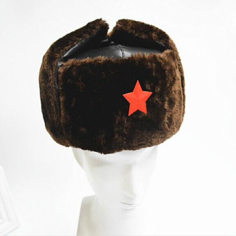 Chapka épais faux cuir