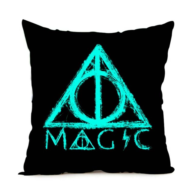 Harry Potter – Square Pillowcase Deathly Hallow