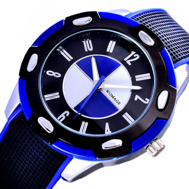 2018 Fashion Casual Sports Quartz Wristwatches Waterproof Children Watch Jelly K