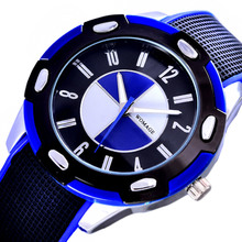 Montre Enfant Garcon Sports Quartz Wristwatches Waterproof Children Watch Jelly