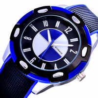 Montre Enfant Garcon sport montres à Quartz étanche enfants Montre gelée enfants horloge garçons heures étudiants Montre-bracelet
