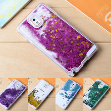 For Samsung S7 Edge Case Fundas Glitter Liquid Quicksand Star Back Cover For Samsung Galaxy S7 S6 S5 S4 Note 3 4 5 Liquide Coque