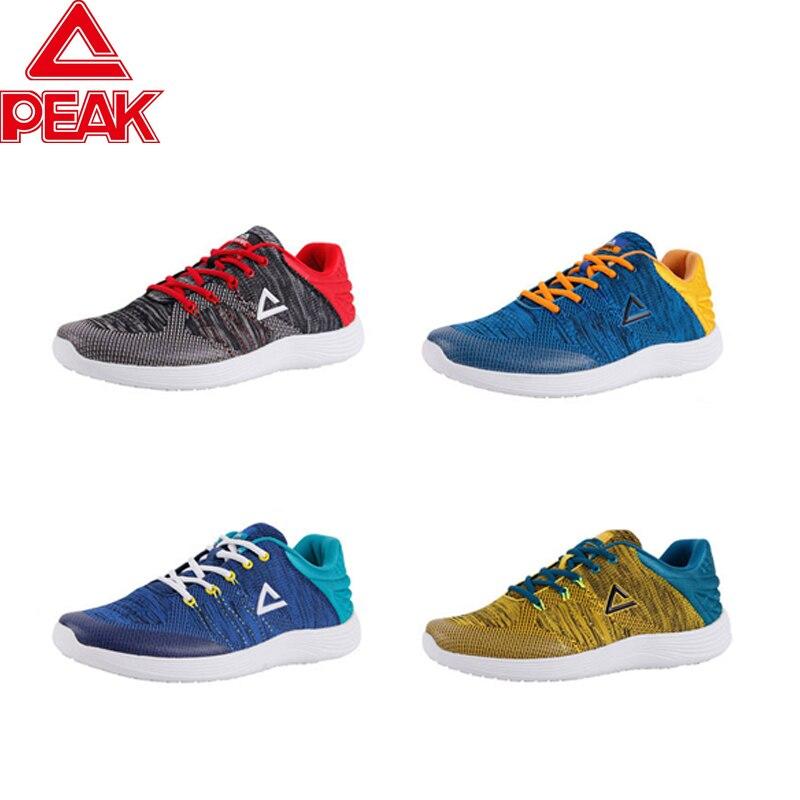 Пиковая легкая уличная спортивная обувь для бега, пара дышащих мягких спортивных кроссовок - 5