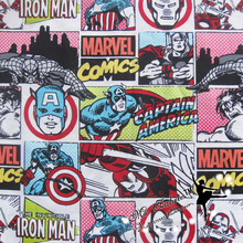 140cm Width The Avengers Fabric 100%Cotton Fabric Plain Comics Fabric Sewing Material Diy Patchwork Home Cloth Dress Clothing