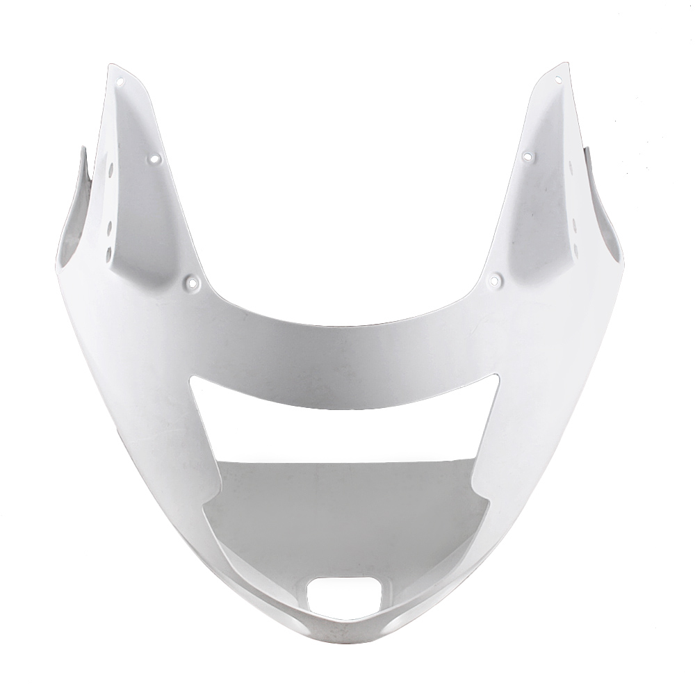 For HONDA CBR1100RR Upper Front Nose Fairing Cowl 1997-2007 Motorbike Accessories Injection Mold ABS Plastic Unpainted White allgt raw abs plastic unpainted tail rear fairing for honda cbr 1100rr 1997 2007