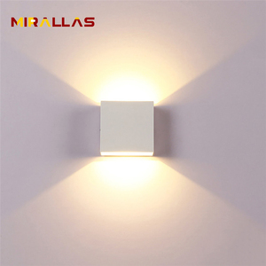 6W LED Up Down Wall Lights Alu