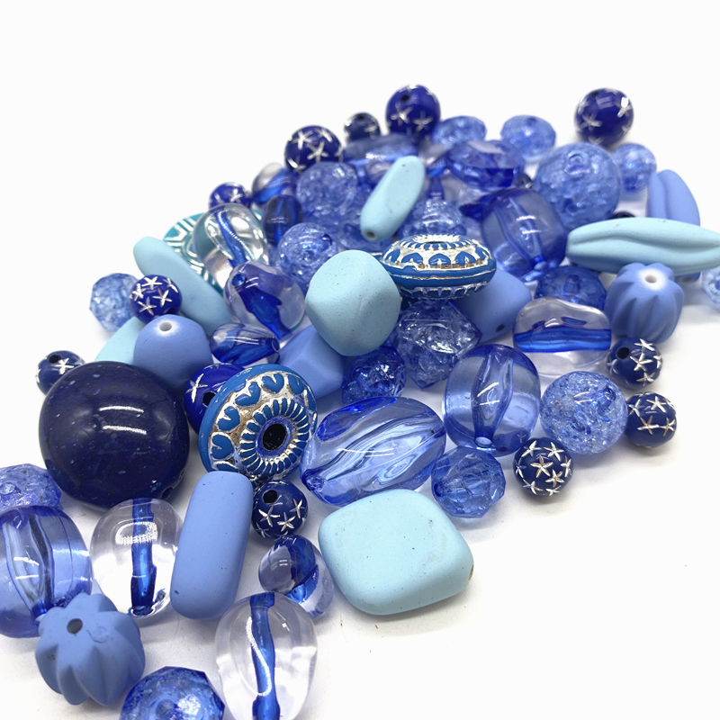 Новинка 20 г акриловые бусины смешанные бусины стиль для DIY ювелирные изделия браслеты ручной работы изготовление аксессуаров - Цвет: 16