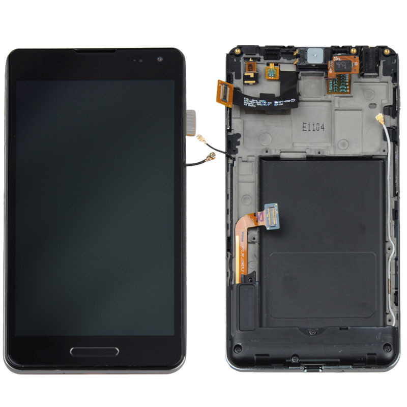 For LG Optimus F7 US780 Sprint LCD Display + Touch Screen Digitizer Assembly + frame OEM