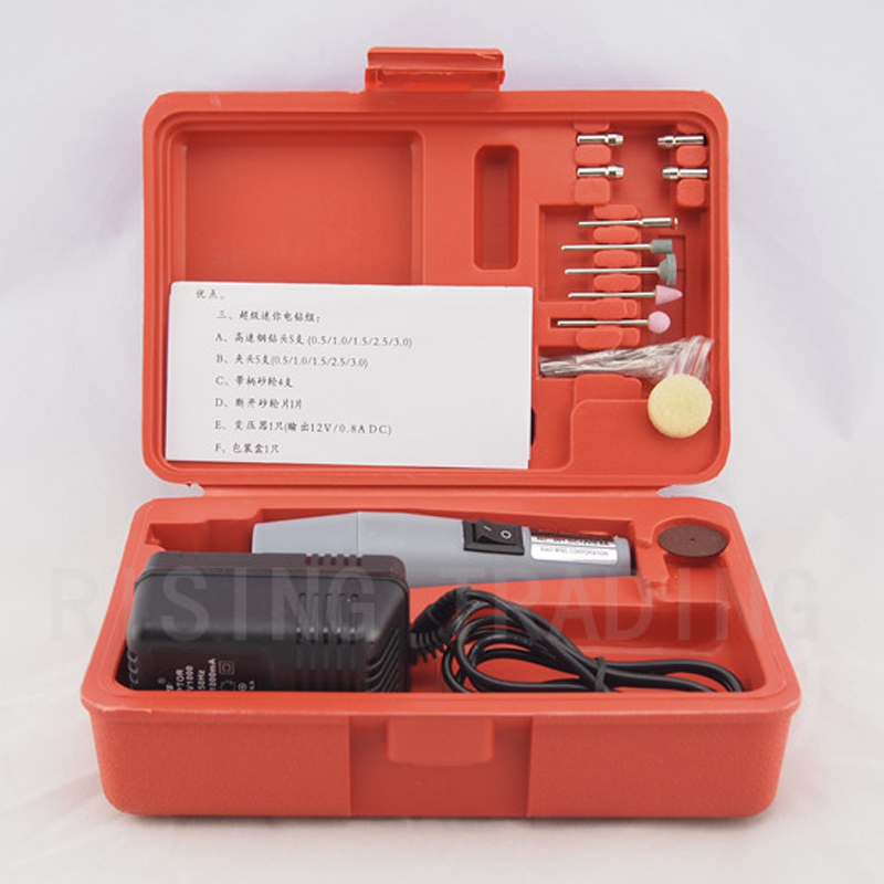 Small drill Mini drill Hand drill grinding machine Miniature drill Small electric mill Electric grinder suit Engraving Machine