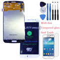 Original 100% Test LCD Touch Screen Digitizer Assembly For Samsung Galaxy Grand 2 SM-G7102 Duos White With free tools