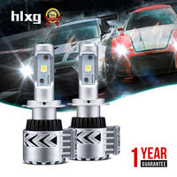 2016 New Super Bright 12000 Lumen 72W H4 High Low Dual Beam 8G Car Led Headlights