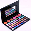 Profissional da sombra de maquiagem 56 Cor Dos Olhos sombra & Blush makeup Palette Kit Mulheres Beleza Cosméticos Set