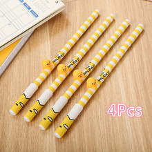 Gel Pens Kawaii Cute Pen Korean Egg Yolk Colorful Magic Stick Santa Claus Stationary ZXB010G