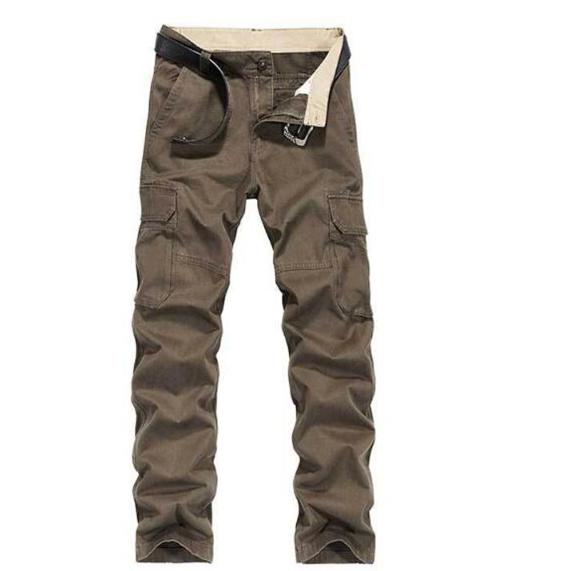 Pants Men's Cargo Pants Casual Mens Pant Multi Pocket Military Overall Men Outdoors Long Trousers Plus size
