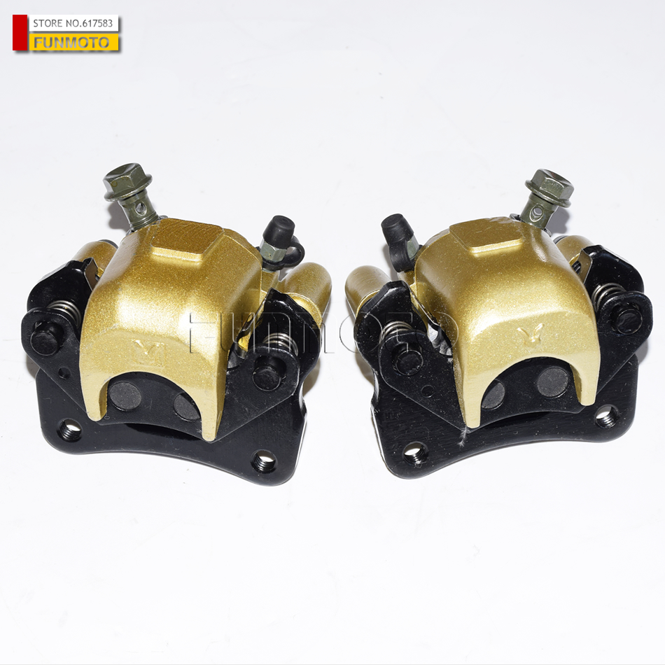 купить left and right side brake caliper suit for XT150 CC BUGGY/KINROAD 150CC BUGGY дешево