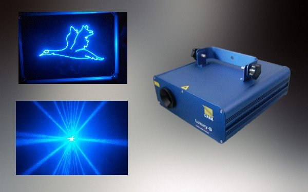 blue laser light dj equipment disco stage party light laser display