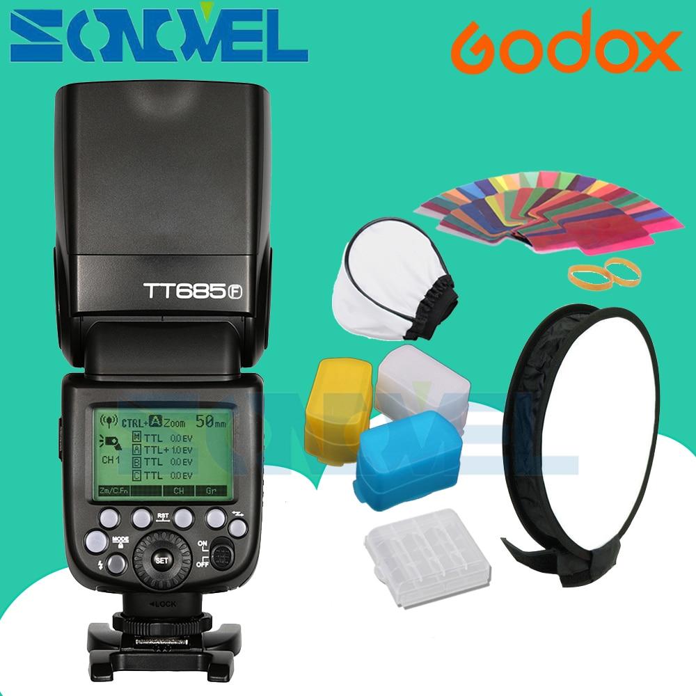 In Stock Godox Speedlite TT685F for Fujifilm Camera Flash TTL HSS GN60 High Speed 1 8000S