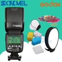 В наличии Godox Вспышка TT685F для ЖК дисплея с подсветкой Fujifilm Камера флэш ttl HSS GN60 высокое Скорость 1/8000 S 2,4 г для цифровой фотокамеры Fuji X Pro2/1 X T20