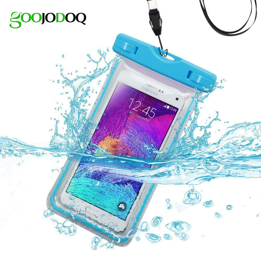 Universal Waterproof Underwater Mobile Phone Case For iphone X 8 7 4 5S 5 6 7 plus Screen Touch Bag Pouch for Samsung S8 S6 6