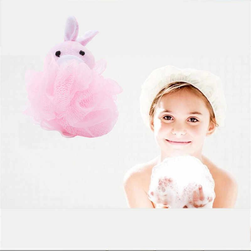 יילוד כותנה כדור-צורת תינוק מקלחת ספוג שפשוף גוף לשטוף מגבת מותג תינוק אמבטיה מברשת ילד מקלחת אמבטיה מוצר אמבטיה טיפול