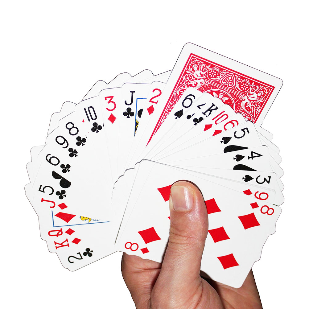 Portable Bicycle Playing Cards Invisible Bicycle Deck Joker Cards for Bicycle Standard Card Deck Gambling Accessories Rondomly