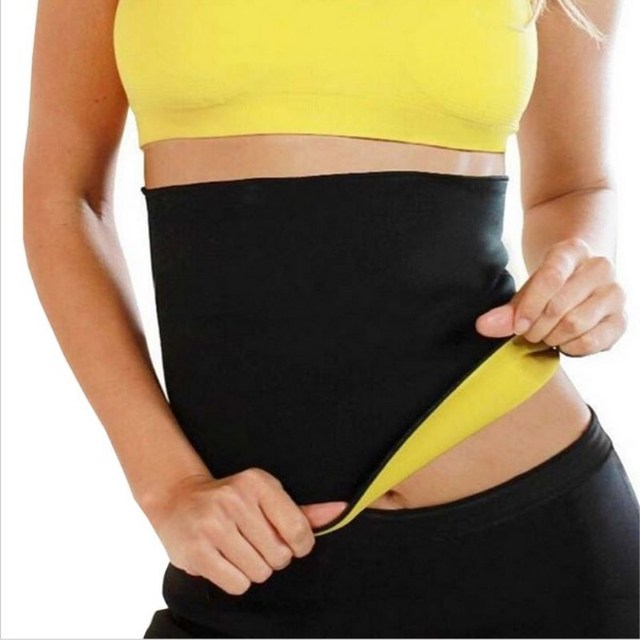 Adult Shaper braceHot Waist Band Gym Fitness Sports Exercise Waist Support Pressure Protector Body Building Belt Slim Item Sweat 3