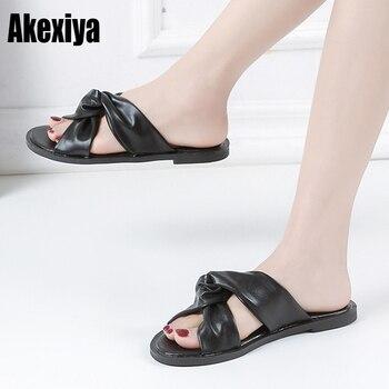 Sólido Zapatillas Nueva Boca Sandalias Casa Chussures Llegada Color Pez Madre F273 Moda 2019 Zapatos Tendencia Mujer 7ybY6fg