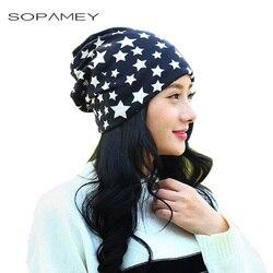 Sopamey cap knitted scarf winter women s hats letter beanies women hip hot skullies girls skull.jpg 250x250