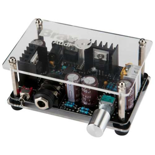 Bravo Audio S1 Solid State DC 24V 480mV HIFI Music Headphone Amplifier AMP детская комната дисней