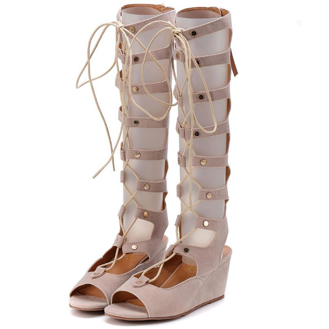 24ee61bd0147f1 Brand same design Genuine Leather Women Roman shoes Gladiator Sandals Sexy  Open Toe Sandal woman Summer Shoes