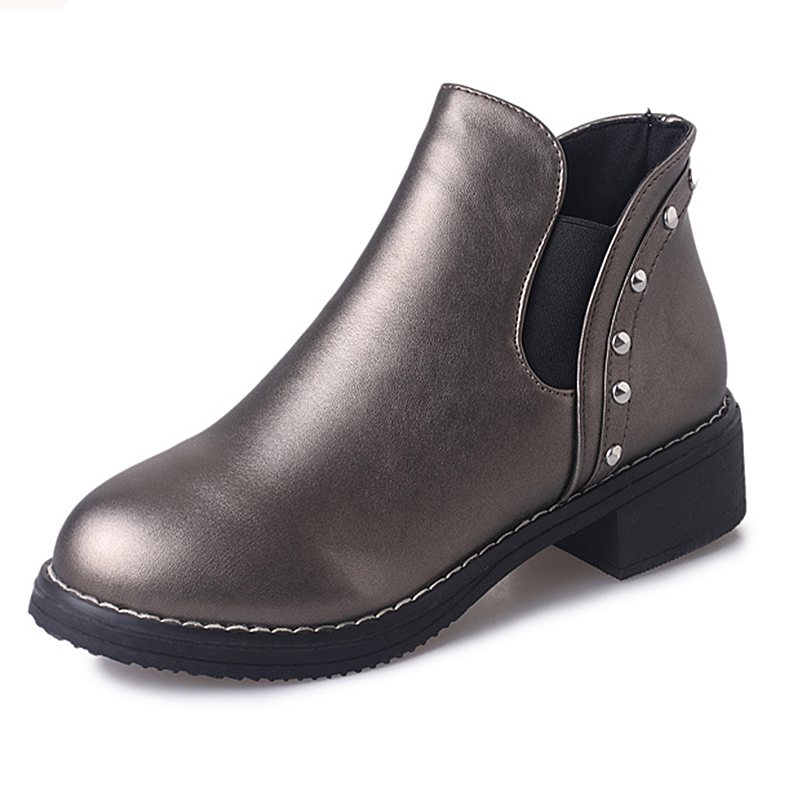 Women Ankle Boots Hand-made Leather Woman Boots Autumn winter Shoes Female Footwear ensemble stars 2wink cospaly shoes anime boots custom made