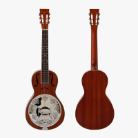 Aiersi Brand Wholesale price Mahogany Parlour Resonator travel Guitar guitar TRG 03