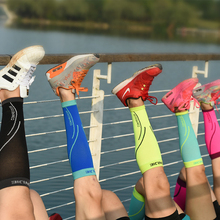 Men Women Running Professional Compression Sports Leg Sleeve Shin Guard Calf Support