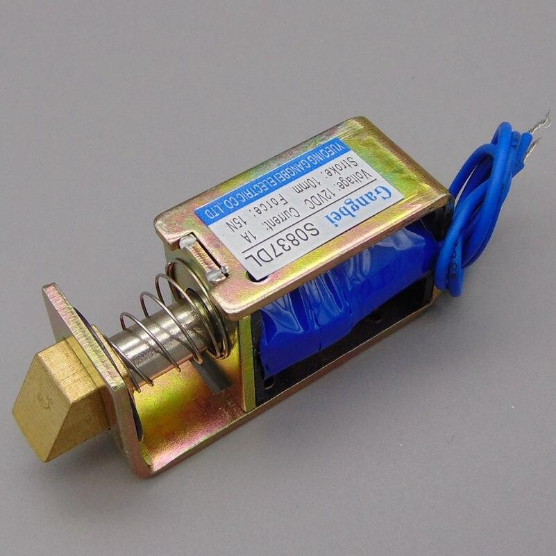 Aliexpress.com : Gangbei S0837DL DC12V24V Open frame elektromagnet ...