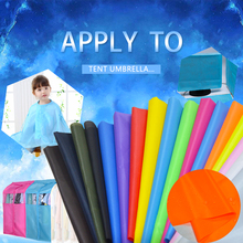 150cm Wide*100cm Polyester Taffeta Waterproof Fabric With Pu Coating For Kite Fabric Umbrella Fabric Diy Handmade Fabric cheap siyifang Woven CN(Origin) Other 1 5meter Other Fabric Coated Plain 190T Polyester taffeta
